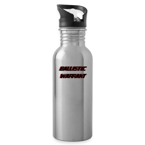 BallisticWarrrant - Drinkfles met geïntegreerd rietje
