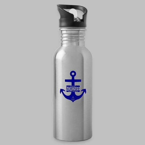 Nordsee Anker Meer geht immer - Trinkflasche