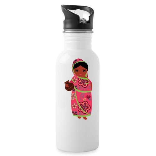 Lovedesh Art - Ira Kolshi Doll - Water Bottle