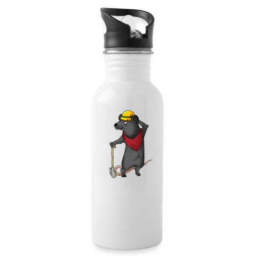 Arbeiter Ratte - Trinkflasche
