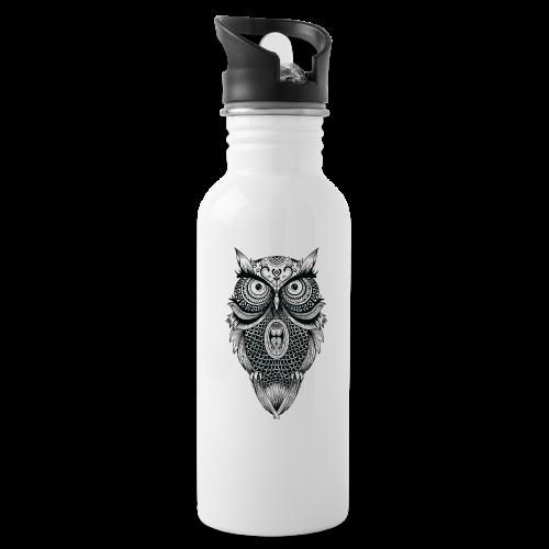 Mandala owl - Water Bottle