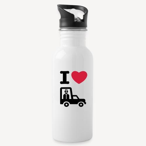 Papst im Auto - Water Bottle