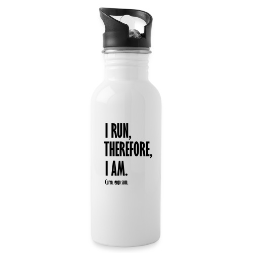 I run therefore I am - Drinkfles