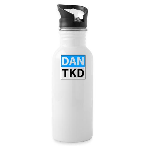 dan tkd logo large jpg - Water Bottle