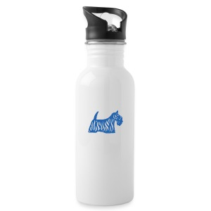 Founded in Scotland logo - Water Bottle