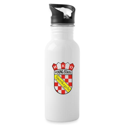 Wappen png - Trinkflasche mit integriertem Trinkhalm