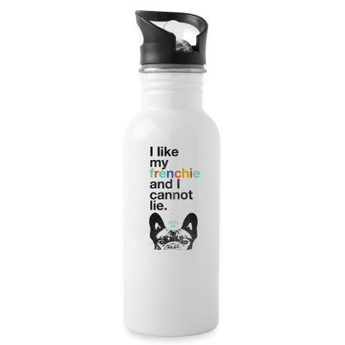 I like my Frenchie - Trinkflasche