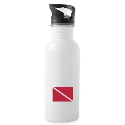 Diver Flag - Water Bottle
