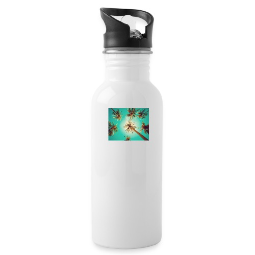 palm pinterest jpg - Water Bottle