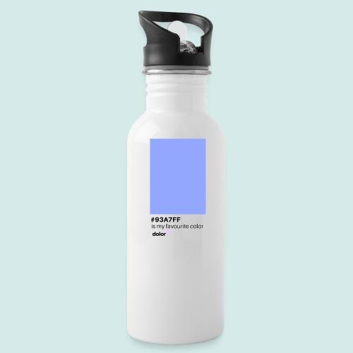 #93A7FF - Trinkflasche
