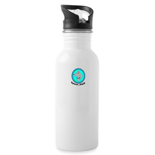 Spoon_Wolf_2-png - Water Bottle