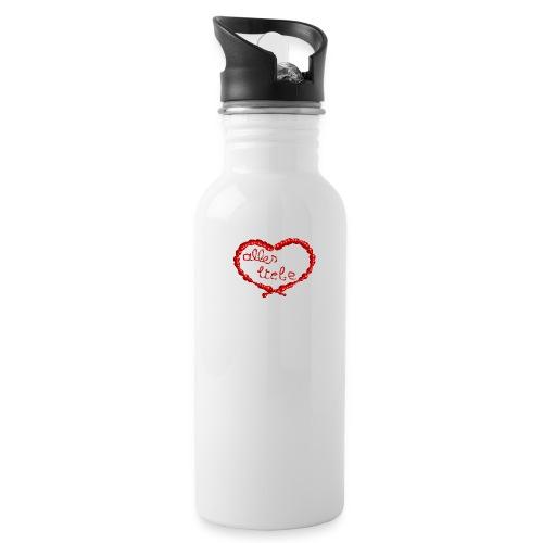 ein Herz für dich - Trinkflasche
