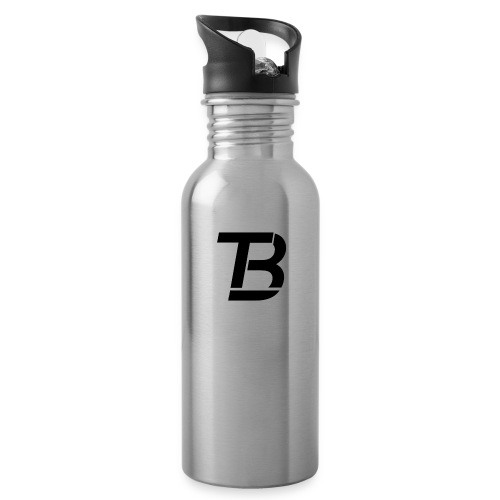 brtblack - Water bottle with straw