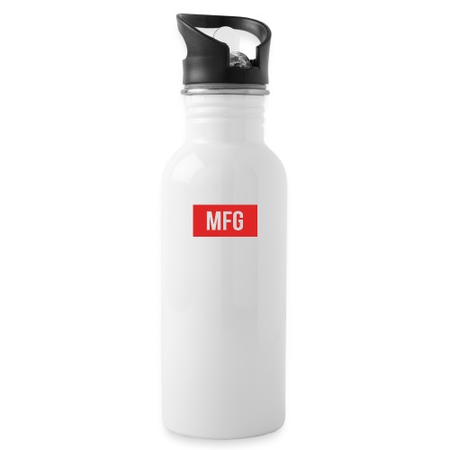 MFG on Youtube Logo - Water Bottle