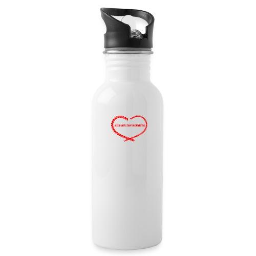 alles liebe zum Valentins - Trinkflasche