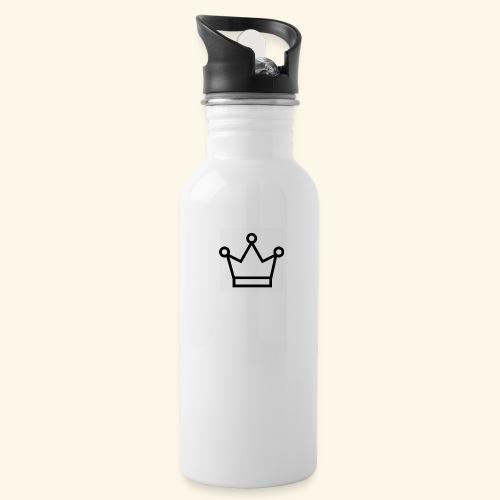 The Queen - Drikkeflaske med integreret sugerør