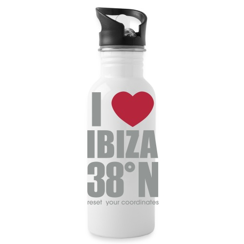 heartibiza 38north rg - Water Bottle