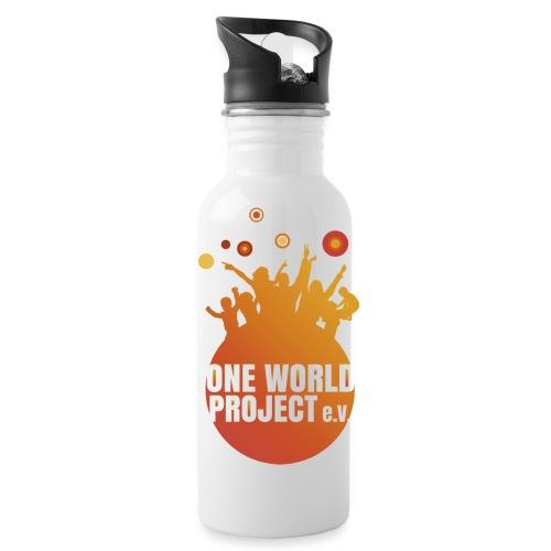 One World Project e. V. - Logo - Trinkflasche