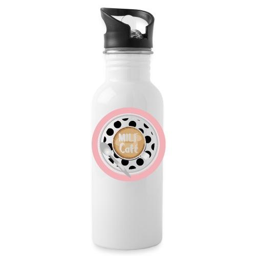 Milfcafé - MILF Logo Instagram Blogger Musthave - Trinkflasche