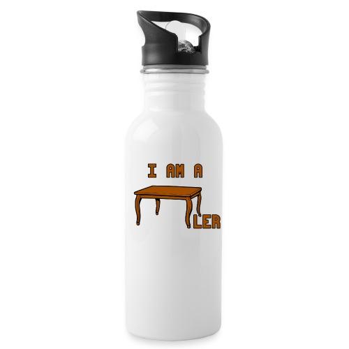 i am a Tischler - Trinkflasche