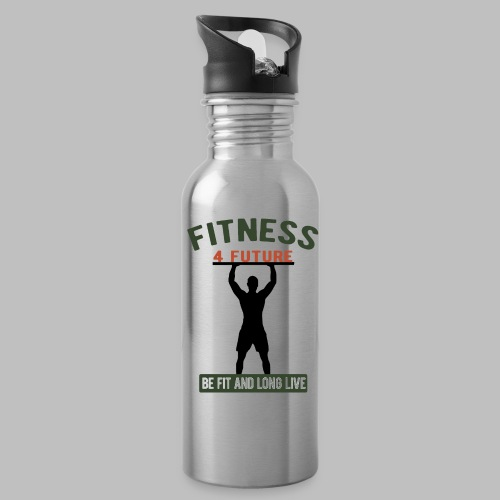 Fitness 4 future sei Fit und lebe lang - Trinkflasche