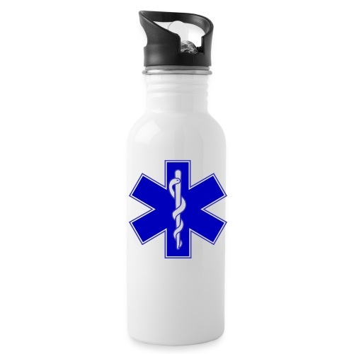 2000px Star of life2 svg png - Borraccia