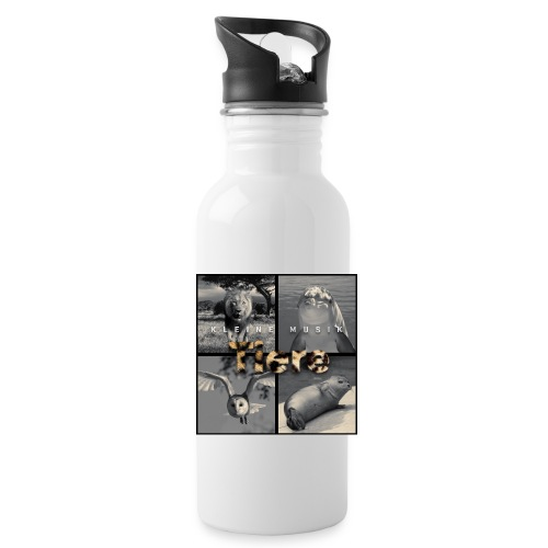 Tiere Cover jpg - Trinkflasche