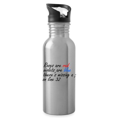 Semikolon - Trinkflasche