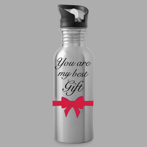 you are my best gift - Water Bottle