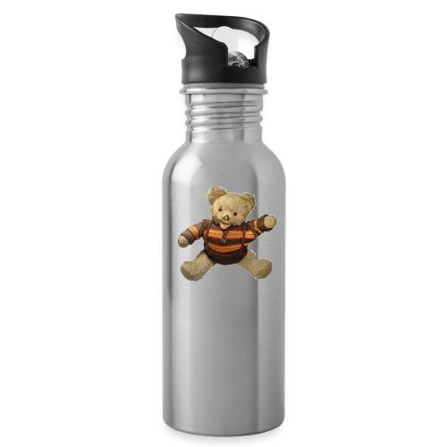 Teddybär - orange braun - Retro Vintage - Bär - Trinkflasche