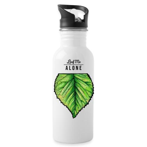 Leaf me Alone - Trinkflasche