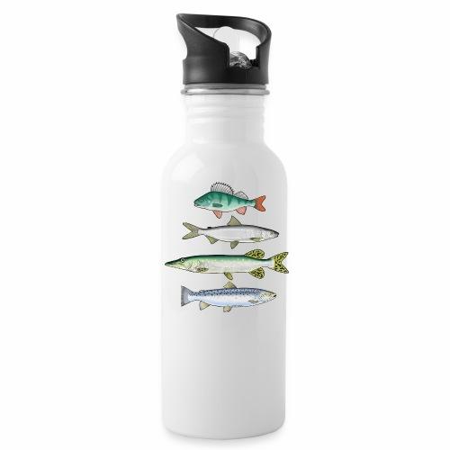 FOUR FISH - Ahven, siika, hauki ja taimen tuotteet - Juomapullot