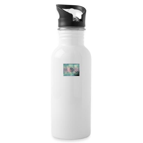 Llama in a circle - Water Bottle