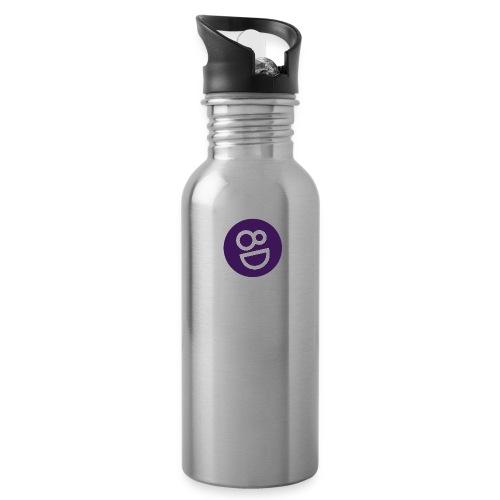 logo 8d - Drinkfles met geïntegreerd rietje
