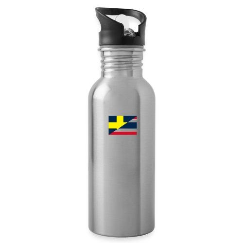 thailands flagga dddd png - Water Bottle