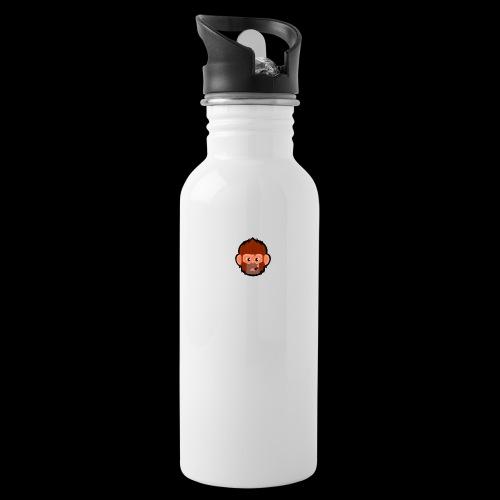 pogo clan cover - Drikkeflaske med integreret sugerør