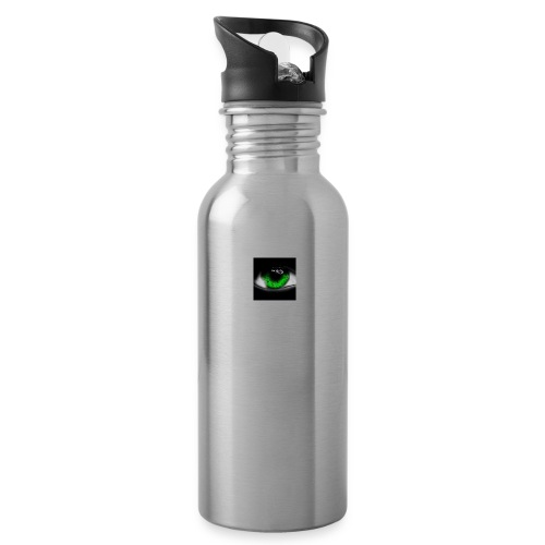 Green eye - Water bottle with straw