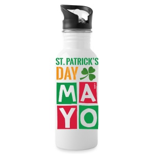 Celebrate St. Patrick's Day in Mayo - Water Bottle
