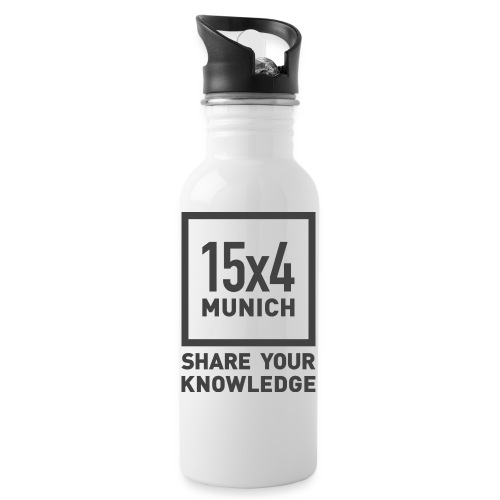 Share your knowledge - Trinkflasche