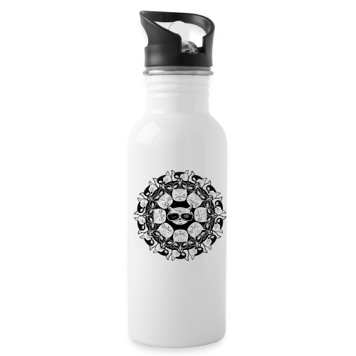 Cats mandala - Water Bottle