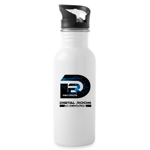 Digital Room Records Official Logo effect - Water Bottle