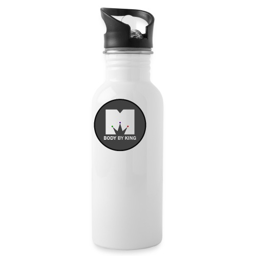 BodyByKing Main Logo - Water Bottle