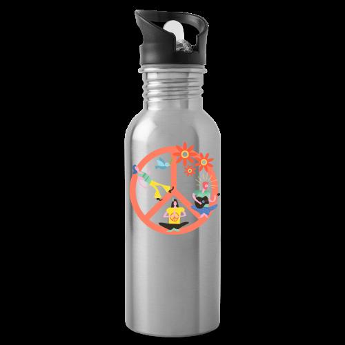 Hippie Peace - Water Bottle