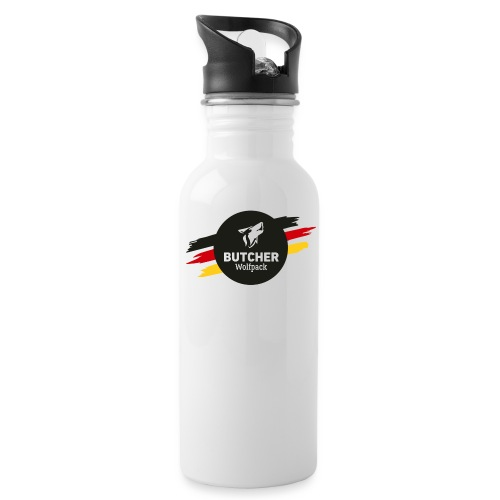 BUTCHER WOLFPACK Logo - Trinkflasche