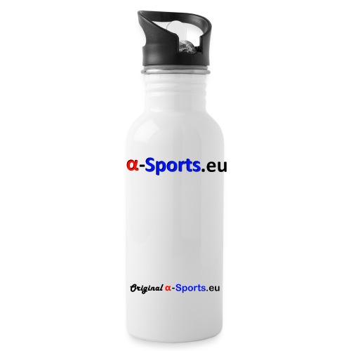 origalphaschwarz png - Trinkflasche
