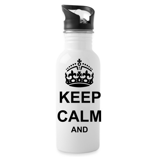 Keep Calm And Your Text Best Price - Water Bottle