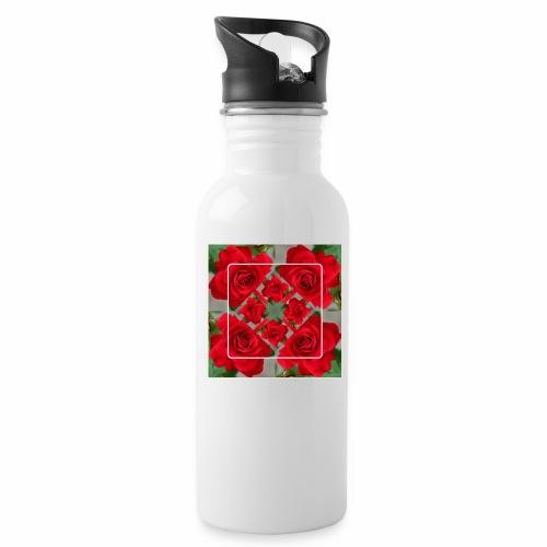 Rose Design - Trinkflasche