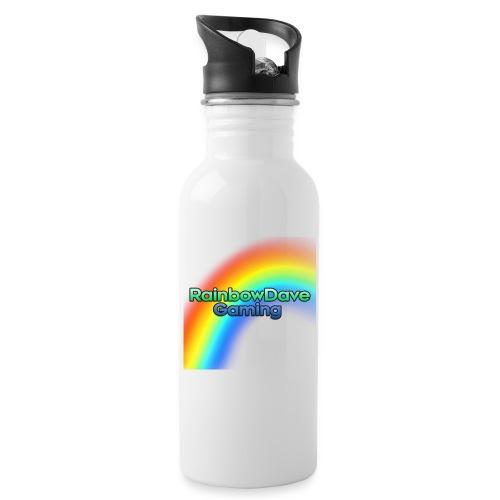 RainbowDave Gaming Logo - Water Bottle