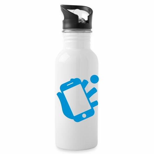 Smartphone-Tennis Logo Print - Trinkflasche