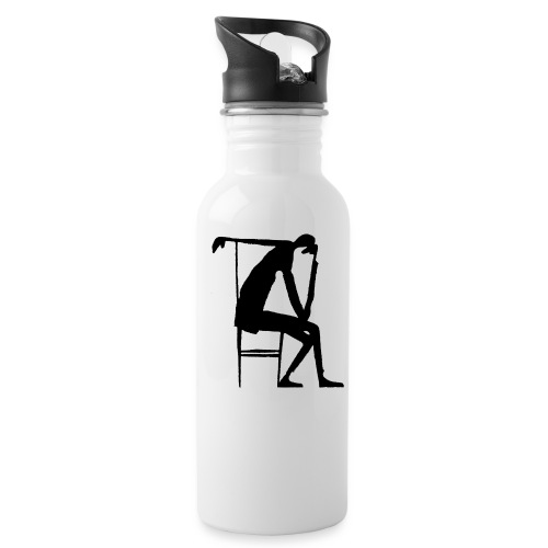 Franz Kafka - Der Denker - Trinkflasche